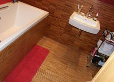 podlaha koupelna Brno