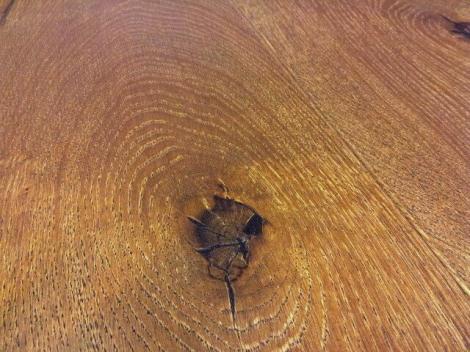 Dubové prkno darkbrown country,4 V, kartáčovaný, olej, vosk