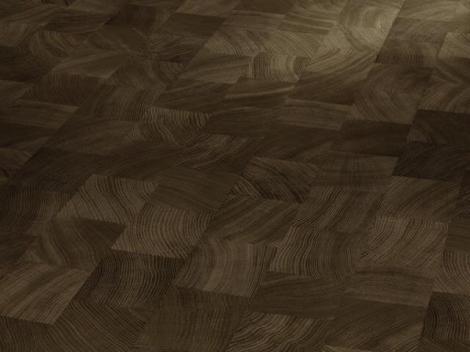 Dub příčně řezaného dřeva kouřový Minipearl struktura