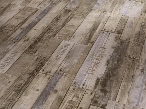 Boxwood Vintage hnědá kartáčovaná struktura