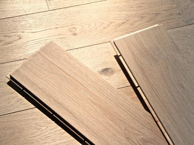Dvouvrstvá dřevěná podlaha