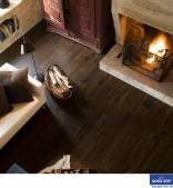 Starý zimní dub tmavý prkno UE1496